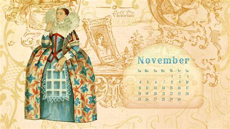 desktop wallpaper calendar november  call  victorian