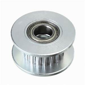 20t 5mm Gt2 Timing Belt Idler Pulley With Bearing For 3d