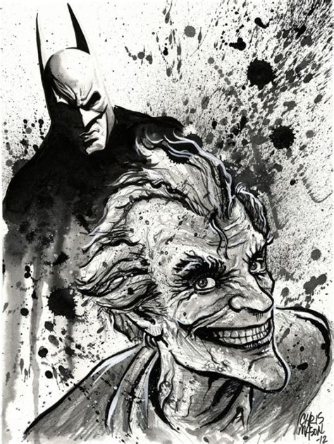 Joker: Batman Arkham City by CHRIS MASON | Illustrations ...