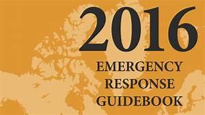 Emergency Response Guidebook  Erg  And App