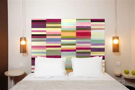 tete de lit coloree inspirations pour t 234 tes de lit originales picslovin