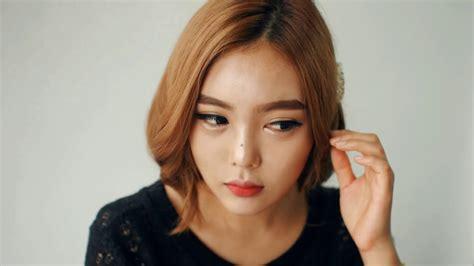 english subtitleskorean hair fake short hair faux bob