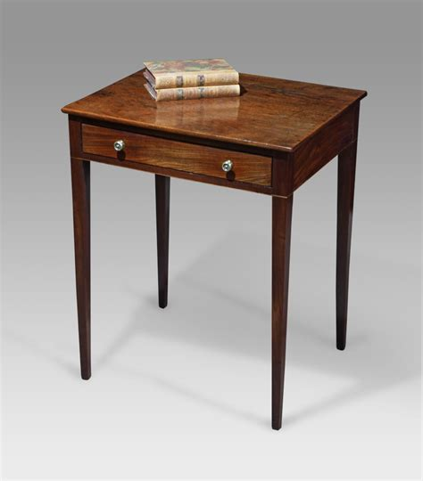 small l table small mahogany side table georgian square table antique