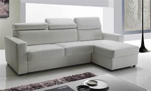 canape longueur 160 cm maison design wibliacom With canapé d angle convertible longueur 240 cm