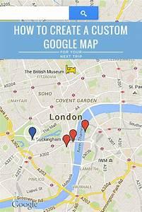 How To Create A Custom Google Maps Itinerary  U0026 Use It