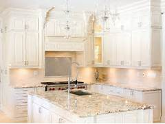 Kitchen Cabinets And Counters Inspiration White Kitchen Cabinets Granite Countertops