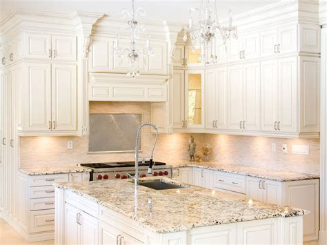 What Color Granite For White Cabinets Decosee Com