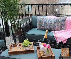 A Small Urban Balcony: Patio Decorating Ideas by Alex Kaehler