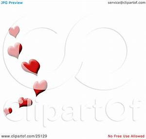 Tsunami Designs Clipart Illustration Of A Red Love Hearts Floating Up