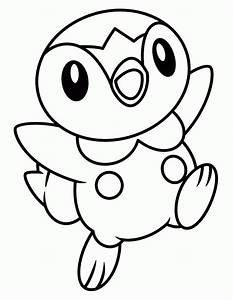 Pokemon Characters Black And White Coloring Pages