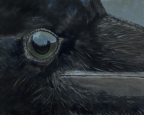 ravens eye painting  les herman