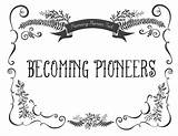 Pioneer Trek Lds Coloring Pioneers Quotes Sharing Becoming Themormonhome Mormon Pt Primary Template Faith Gospel sketch template
