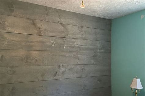 Stained Shiplap Wall by Best 25 Stained Shiplap Ideas On