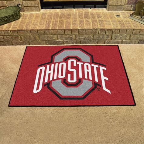 Ohio State Doormat by Ohio State Buckeyes 34 Quot X 43 Quot All Area Rug Floor Mat