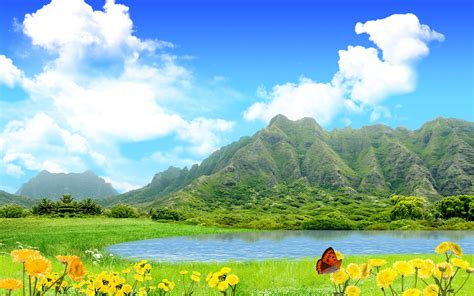 green mountains wallpapers hd wallpapers id