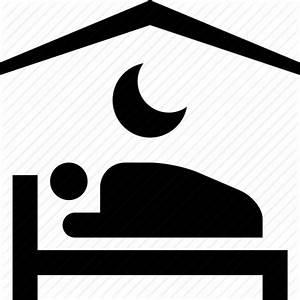 Bad, hotel, moon, motel, night, sleep icon | Icon search ...