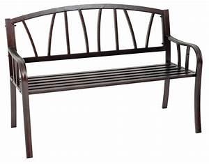 Gartenbank Metall 2 Sitzer : gartenbank metallbank hyde park 2 sitzer metall verzinkt braun hammerschlagoptik ebay ~ Indierocktalk.com Haus und Dekorationen