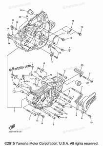 Yamaha Motorcycle 2006 Oem Parts Diagram For Crankcase