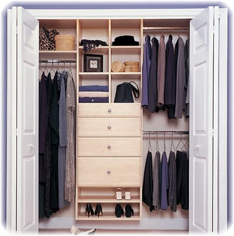 Cabinet & Shelving  Small Closet Organization Ideas With