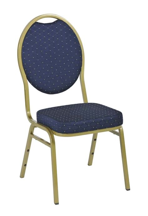 Stackable Banquet Chairs Uk by Kensington Stacking Banquet Chair With Blue Seat