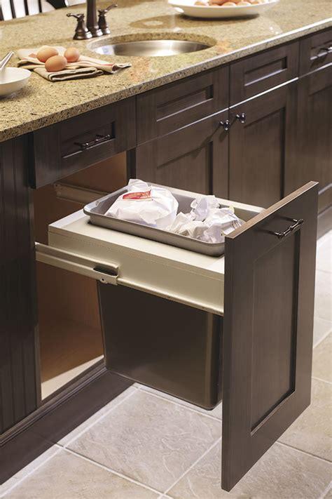 cabinet wastebasket kitchen base wastebasket cabinet with single bin kitchen craft 6519