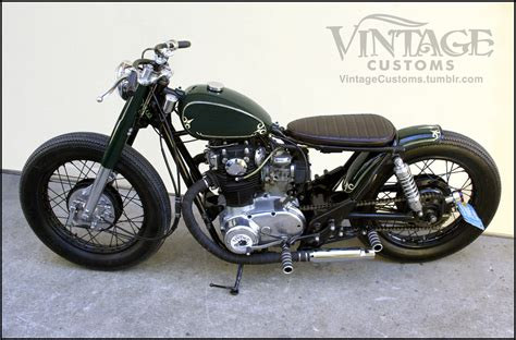 The Bullitt Xs650 By Custom Vintage