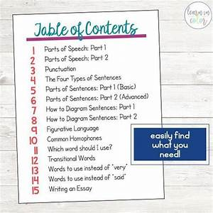 The Ultimate Language Arts Cheat Sheets  With Images