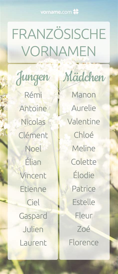 Wundervolle französische Vornamen für Mädchen und Jungen