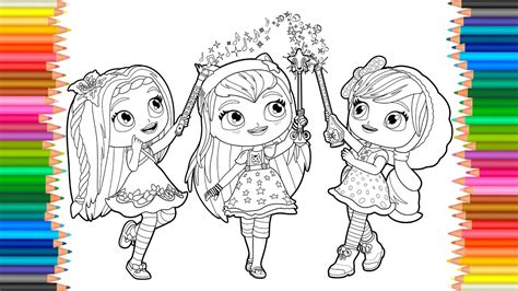 coloring pages  charmers coloring book