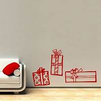 perfect christmas wall decals Christmas Wall Decals