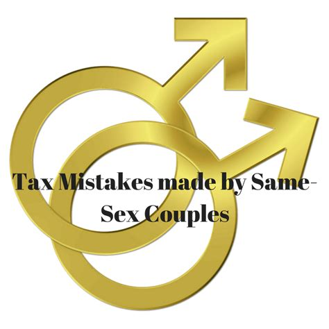 Same Sex Couples And Filing Taxes Fast Tax Help