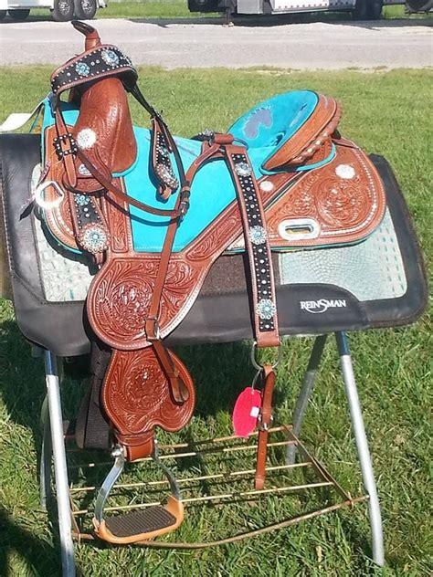 horse tack western saddles saddle barrel