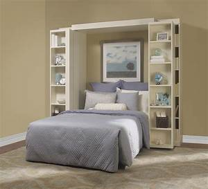 Magnificent, Folding, Bookcase, In, Bedroom, Traditional, With, Bookshelf, Murphy, Bed, Next, To, Hidden, Bed