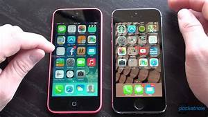 iPhone 5C vs. iPhone 5S - YouTube
