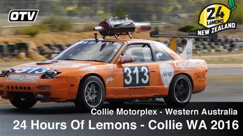 hours  lemons collie motorplex western australia