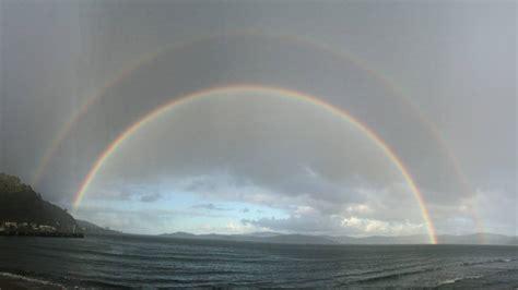 weather photo   week days bay double rainbow stuff