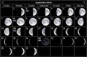 Monthly Stargazing Calendar For September 2014