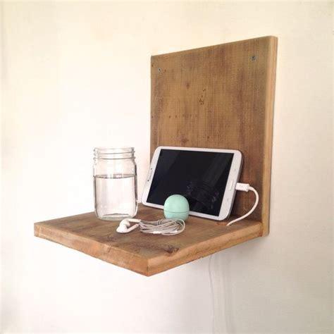 wall mounted nightstand wall mounted nightstand reclaimed wood nightstand