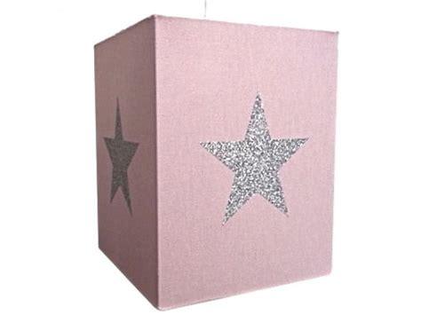 plafonnier chambre bébé lustre chambre enfant coton à étoile argent