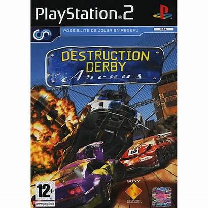 Derby Destruction Arenas Ps2 Playstation Mondemul Sony