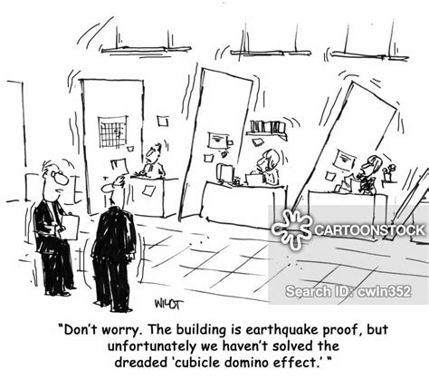 cartoons und karikaturen mit erdbeben