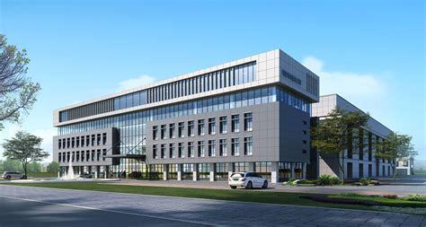 Exterior Office Building Scene 001 3d Model Max Tga
