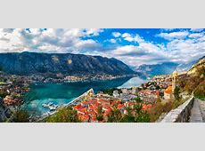 Kotor Bay, old town and Venetian Fortress Sumfinity