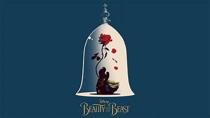 Beast Beauty Wallpapers Poster Disney Pc Artwork
