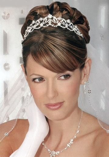 bridal updo with veil and tiara jpg 1 comment