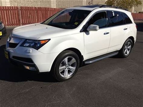 2012 acura mdx tech package automatic navigation