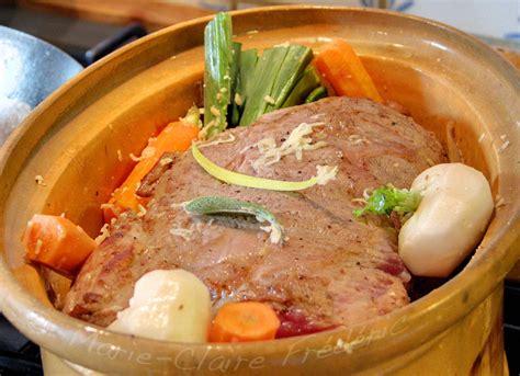 cuisiner du paleron paleron de veau confit au comté ses petits légumes du