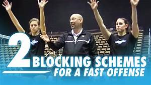 Two Blocking Schemes For A Fast Offense