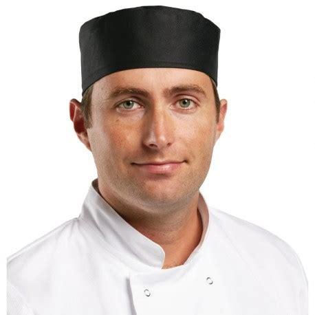 chapeau cuisine chapeau de cuisine calot noir tbs pro