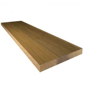plan de travail en teck massif plan de travail bois massif decorasol